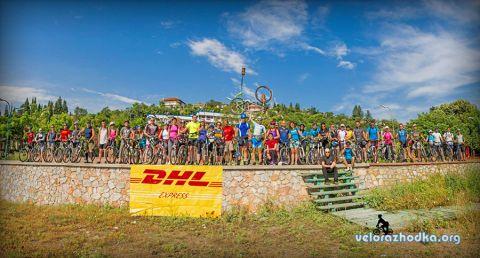Обиколка на Беласица 2014 - на брега на Дойранско езеро