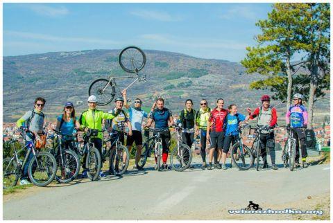 С колело до Сърбия Димитровград - 2014
