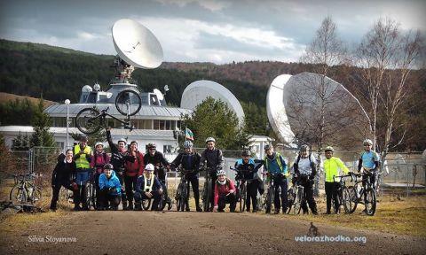 Велоразходка - Обсерватория Плана - 2014
