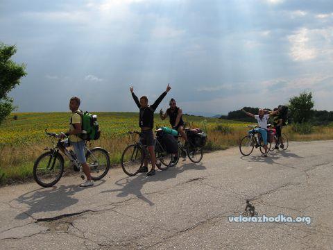 Спускане към Смолско с колела - 2011 г.